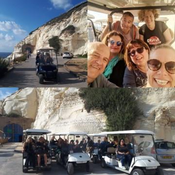 Rosh HaNikra Golf Carts
