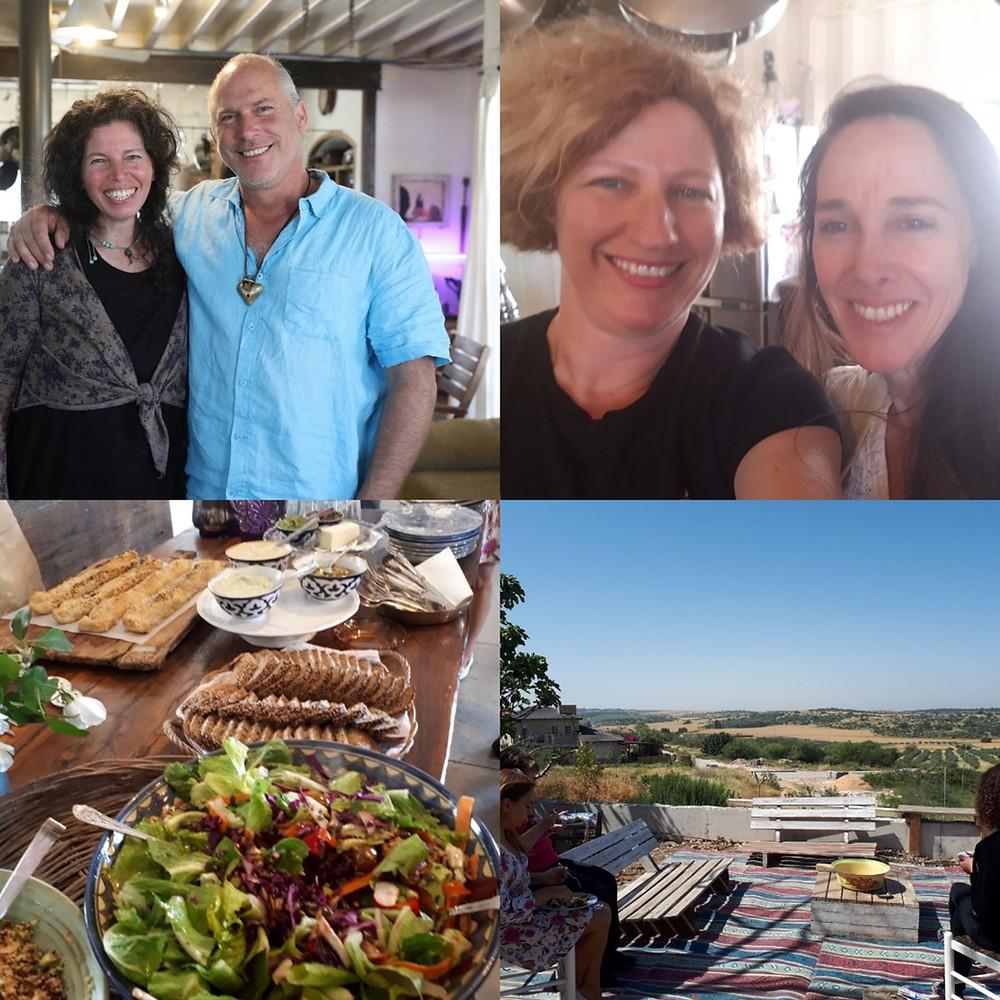 Sigal Geva, Ilia Magnes and Nira Damsky, Luzit, Matte Yehuda Food Festival