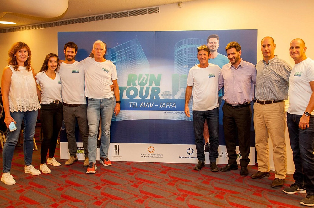 Launching RUN TOUR Tel-Aviv