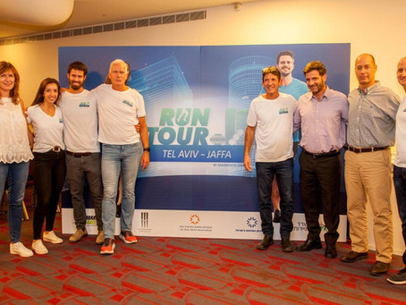 Launching RUN TOUR Tel-Aviv