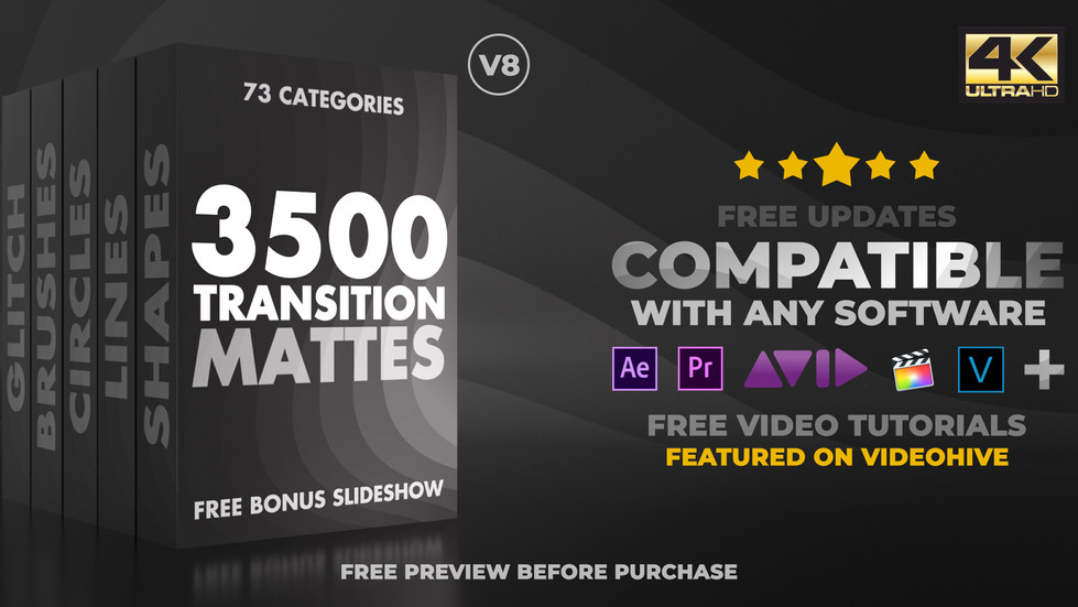 Ultimate Transition Mattes Pack