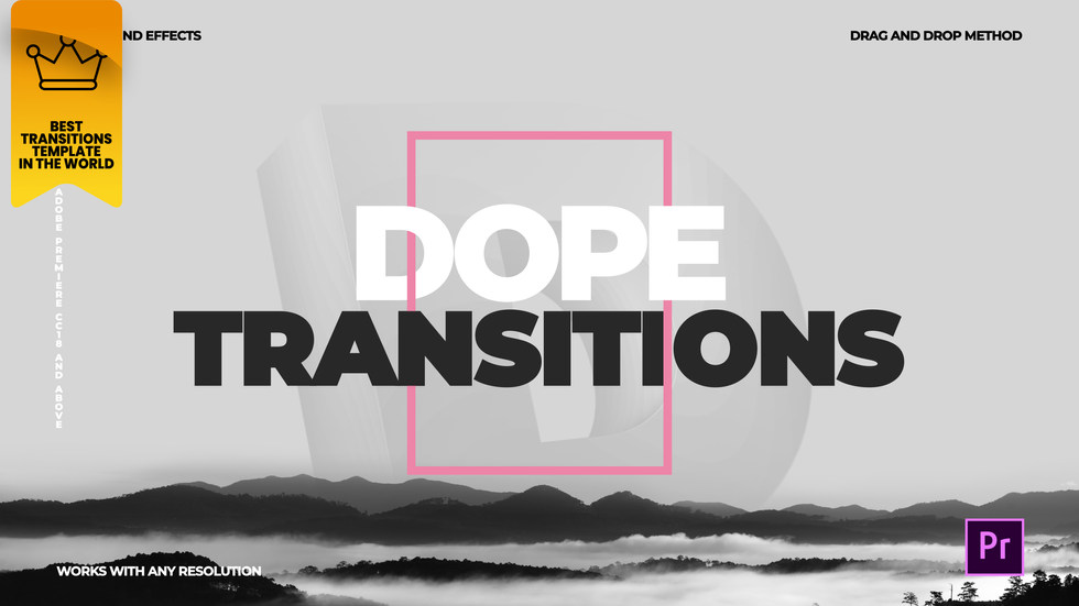 Dope Transitions | For Premiere Pro