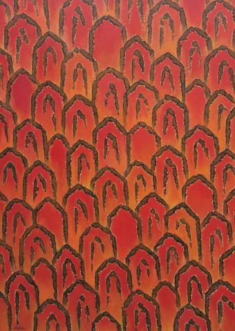 신종섭, 산의소리, 91x65.2cm, oil on canvas