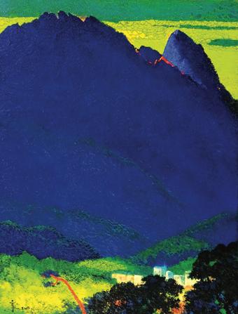 강기융, 신비의 삼각산