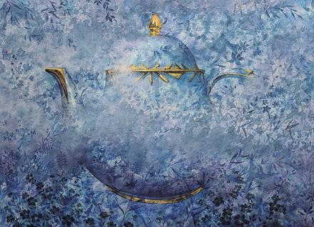 전진규, Vitual, 91x65cm, Acrylic on canvas