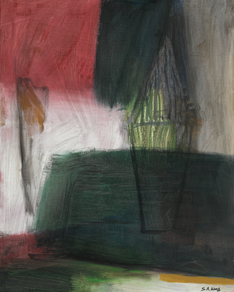 강승애, 동행, mixed media on canvas, 73x91cm, 2020