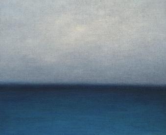 윤인자, 정령-serenity2, 72.7x60.6cm, oil on canvas, 2020