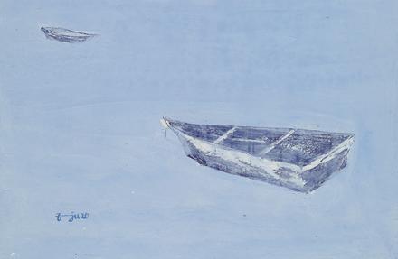 김은주, 세월-흐름1, 40호P, oil on canvas, 2020
