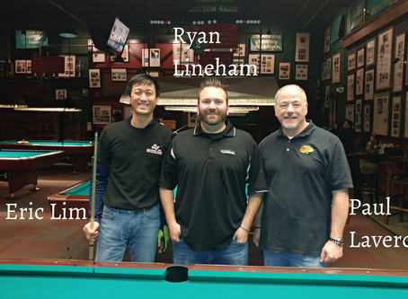 February 17, 2019: 9 Ball Straight Race At Snookers Stop #8