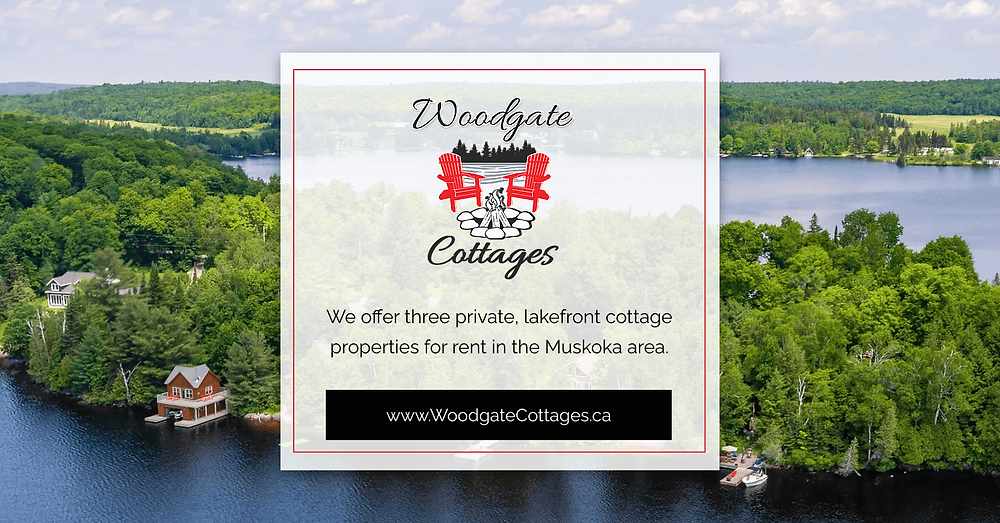 Woodgate Cottages URL Social Share Graphic designed by AG Social Co
