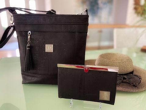 Judi Anne Black Handbag & Wallet