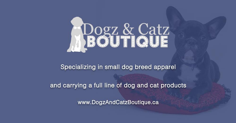 Dogz & Catz Boutique - Facebook URL Share Graphic designed by AG Social Co