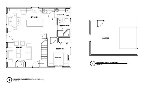 Hemlock Main Floor Floorplan