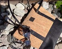 Cork Bag and Sunglasses