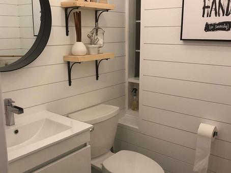 A SHIPLAP DREAM POWDER ROOM