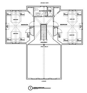 Cedar Bay Upstairs Floorplan