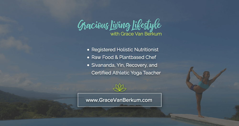 Gracious Living Lifestyle - Social URL Share Graphic designed by AG Social Co