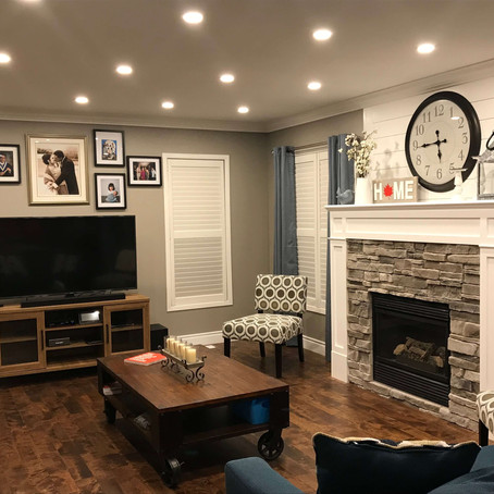 FAMILY ROOM REMODEL