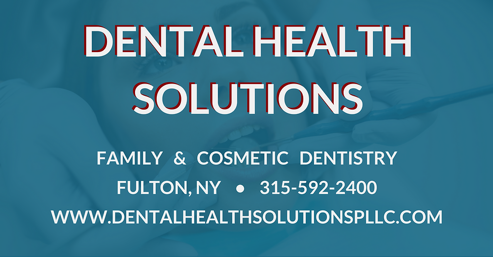 Dental Health Solutions - Facebook URL Share Graphic designed by AG Social Co