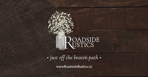 Roadside Rustics - Social URL Share Graphic designed by AG Social Co