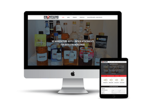 Frontline Manufacturing web design by AG Social Co