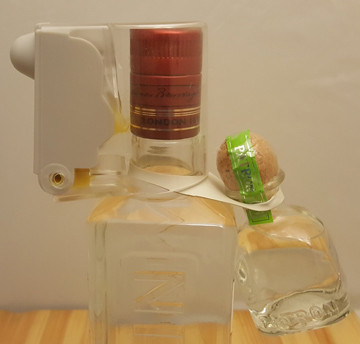 rubber bottleneck onpack ring for bottle