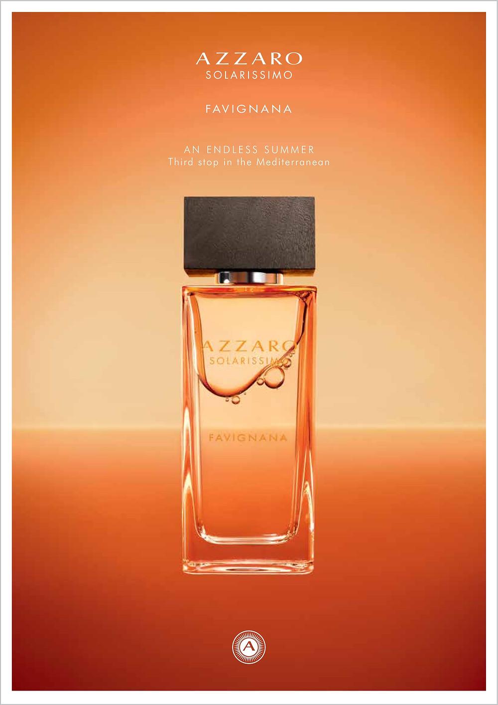 Azzaro Favignanan Fragrance | Susan Santora | Copywriter