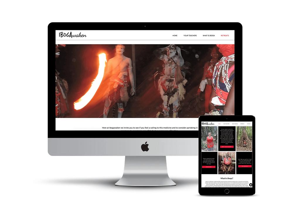 Ibogawaken Web Design by AG Social Co