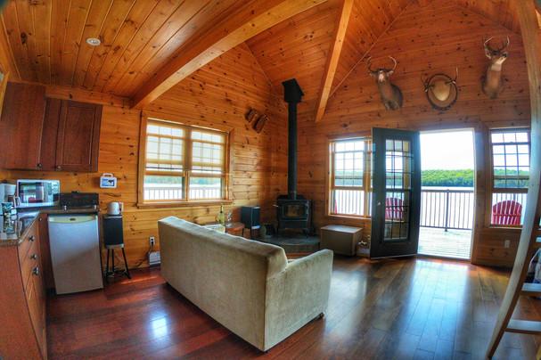 Muskoka boathouse accommodations