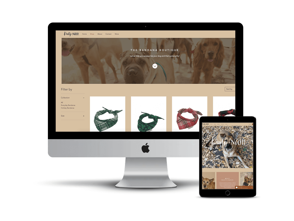 Rusty & Nash Web Design by AG Social Co