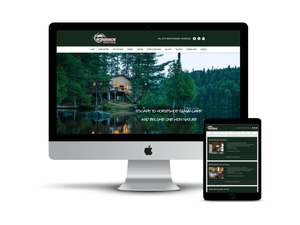 Horseshoe Island Camp web design by AG Social Co