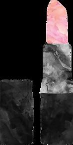 Pink Lipstick Illustration | Ms-Write Beauty Copywriter