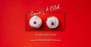 Cancer's A Bitch - Facebook URL Share Graphic designed by AG Social Co