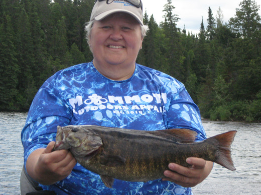 large small mouth bass