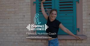 Barbell Boss Fitness - Social URL Share Graphic designed by AG Social Co