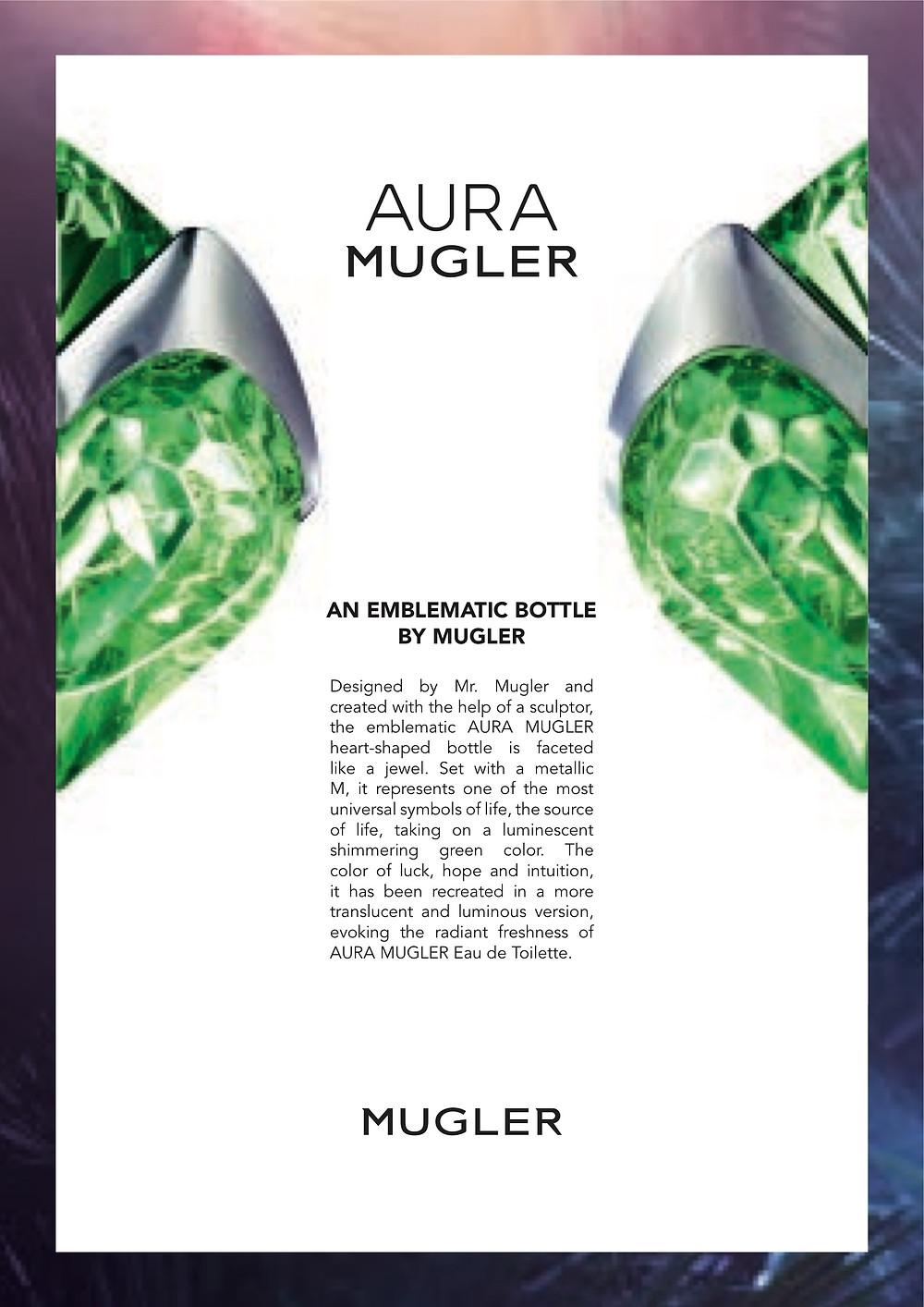 Aura Mugler, An Emblematic Bottle By Mugler | Susan Santora | Copywriter