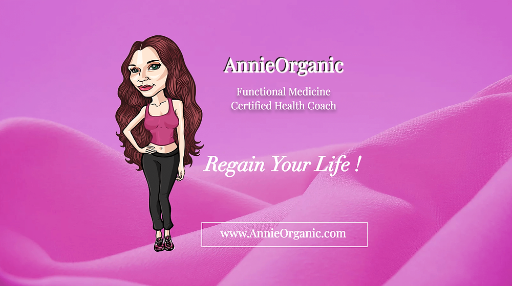 Annie Organic - Social URL Share Graphic designed by AG Social Co