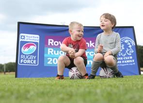 Royal Bank Rugby Force weedend at Biggar