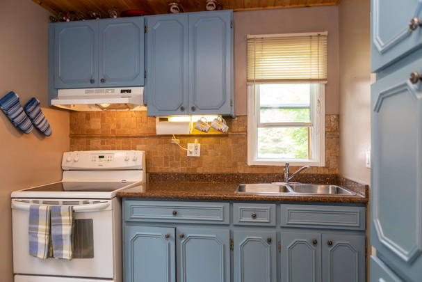 Fully equipped cottage kitchen
