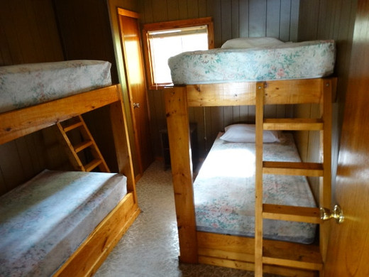 Bedroom with bunkbeds