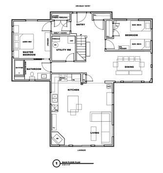 Cedar Bay Main Floor Floorplan