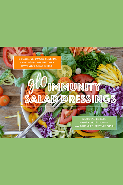 GLO Immunity Salad Dressings