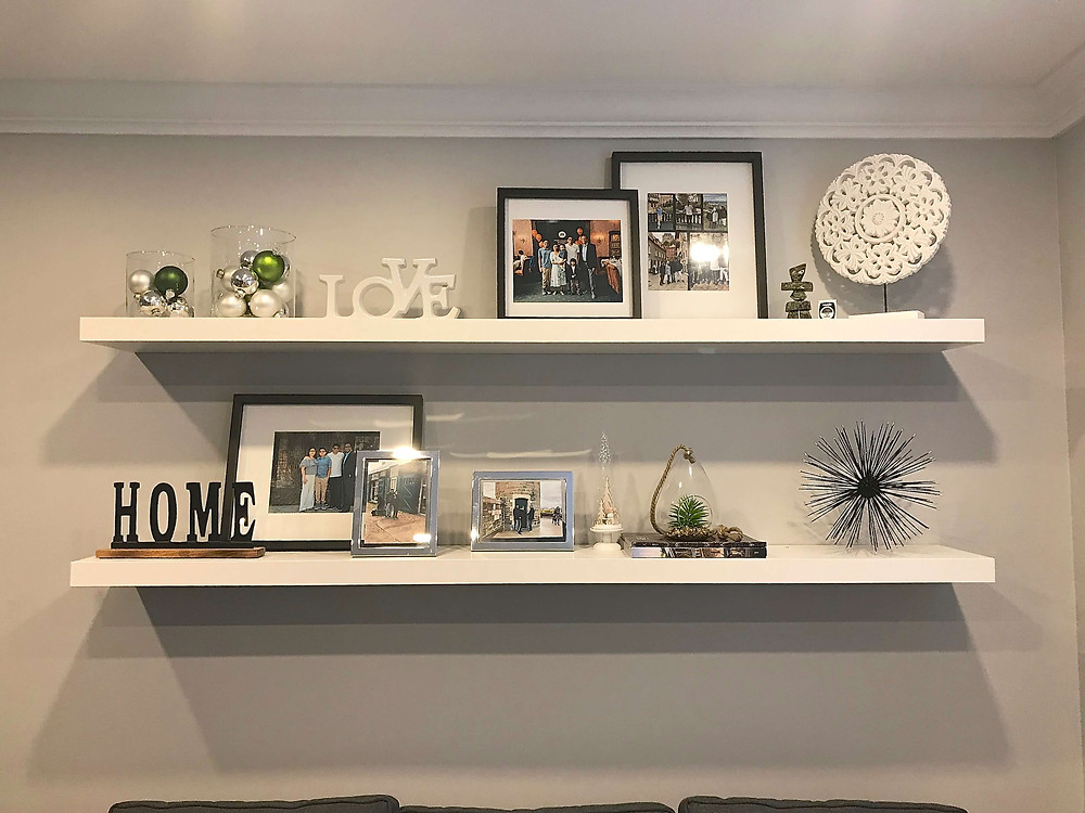 Wall shelves by Georgia's Design