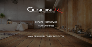 Genuine Floor Service - Social URL Share Graphic designed by AG Social Co