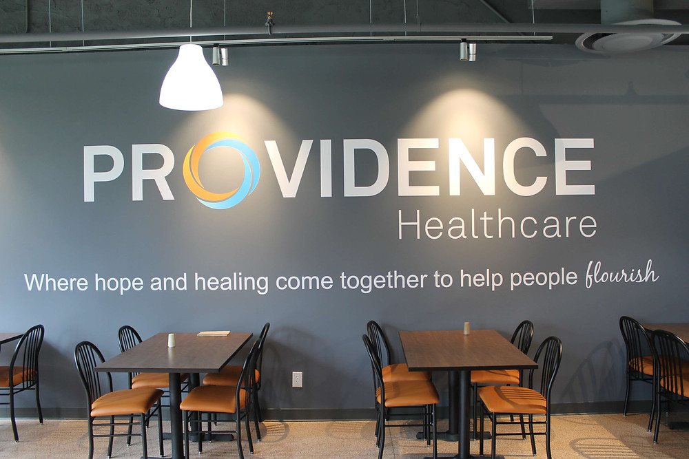 Revitalization project at Providence Healthcare by Georgia's Design