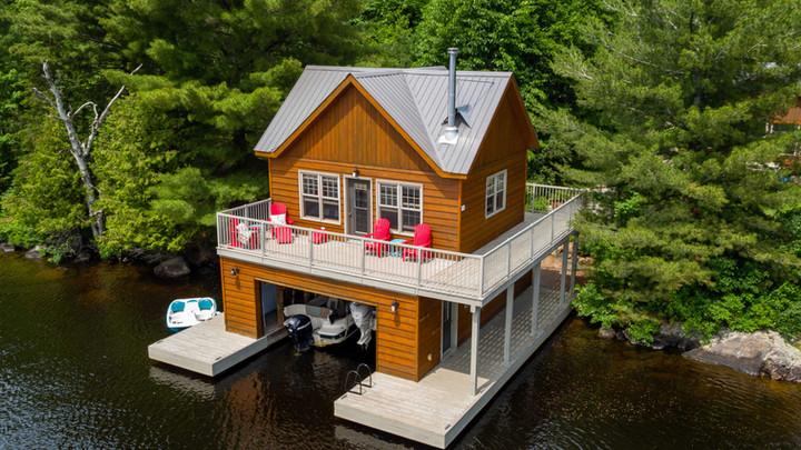 Classic Muskoka Boathouse