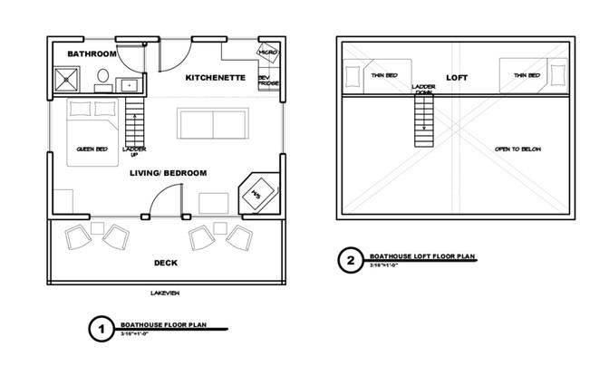 Fernglen Boathouse Floorplan