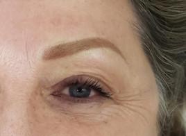 Blonde eyebrows permanent makeup.JPG