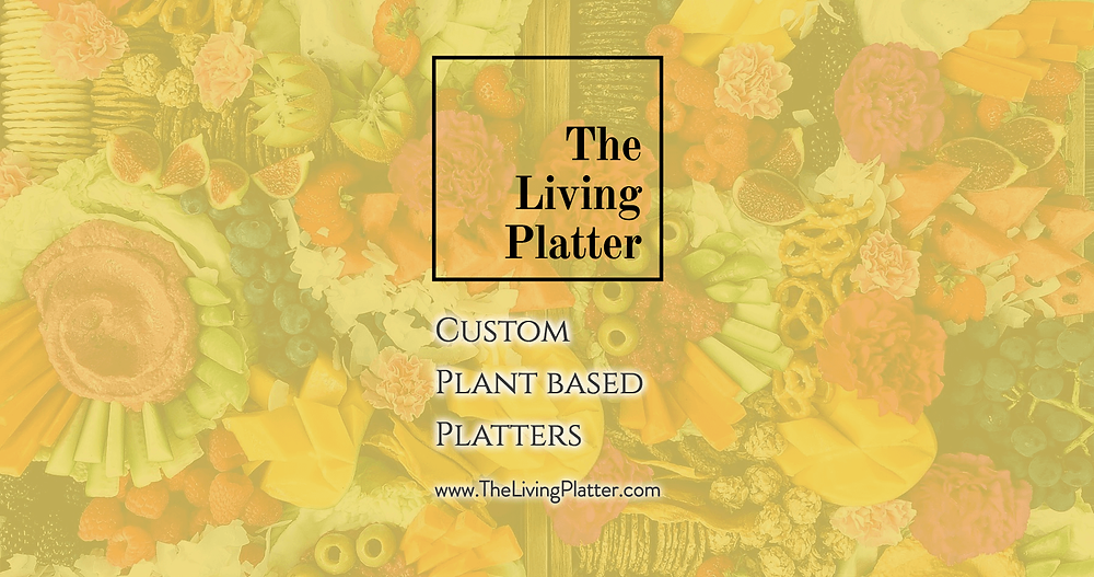 The Living Platter - Social URL Share Graphic designed by AG Social Co
