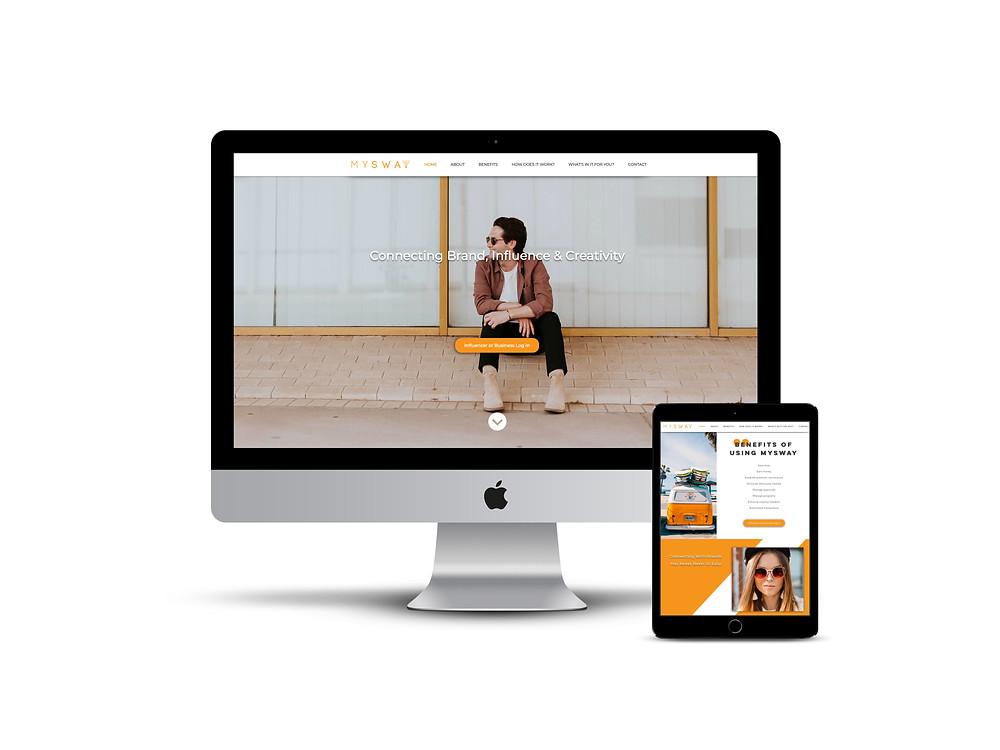 MySway web design by AG Social Co